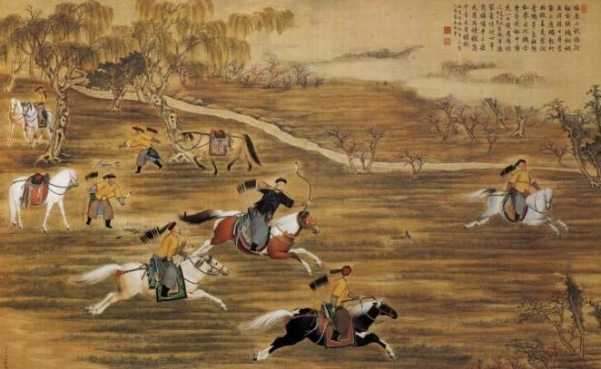 古代帝王皇族们为什么都喜欢围猎?真不是因为馋野味
