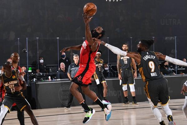 2020年NBA季后赛雷霆队VS火箭队比赛抢七大战谁会是最终赢家?