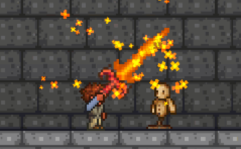 泰拉瑞亚炽焰巨剑怎么做_泰拉瑞亚炽焰巨剑合成攻略