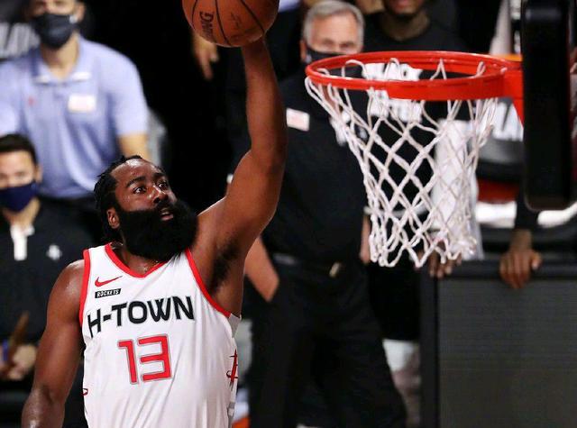 2020年NBA季后赛火箭VS湖人112-97大胜湖人 詹姆斯无力回天
