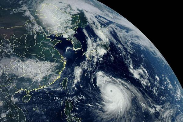 9月7日夜间台风海神减弱为热带风暴吉林登陆 出行注意安全!