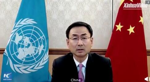 耿爽批美方甩锅中国,在联合国任职依旧如此犀利
