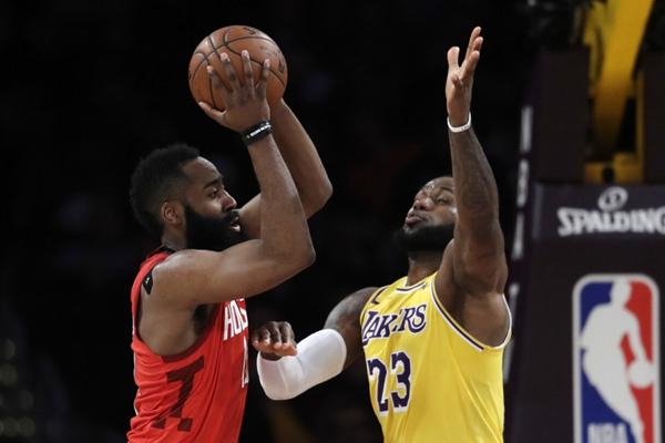 哈登20个罚球,2020年NBA季后赛,火箭VS湖人,NBA季后赛