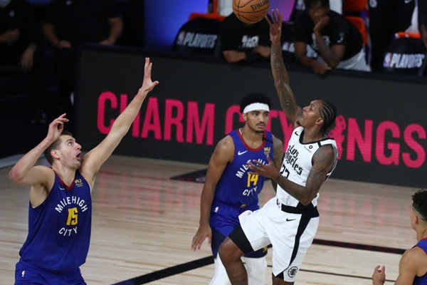 2020年NBA季后赛掘金VS快船进入抢七大战 快船又要翻船了吗?