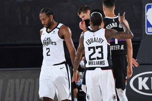 2020年NBA季后赛掘金VS快船,抢七大作战,掘金VS快船,NBA季后赛