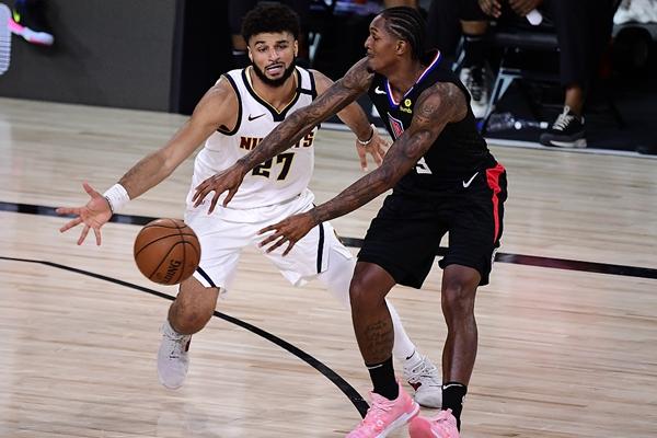 2020年NBA季后赛掘金VS快船进行抢七大作战 掘金逼出最强快船阵容!