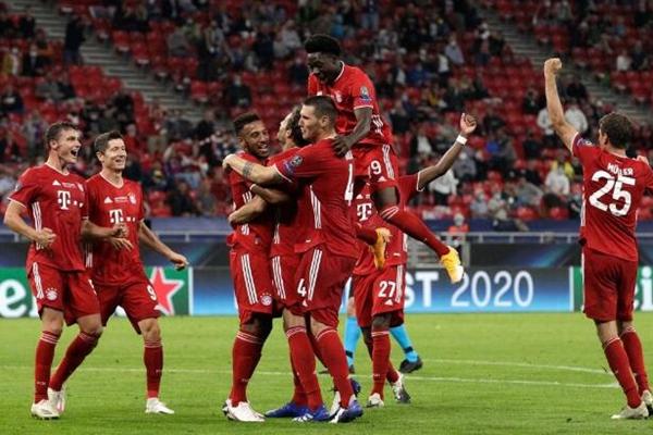 拜仁VS塞维利亚2-1险胜创欧洲超级杯连胜纪录 第104分钟绝杀夺得欧洲超级杯