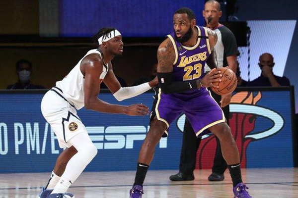 2020年NBA季后赛,湖人VS掘金,NBA季后赛,湖人VS掘金G5