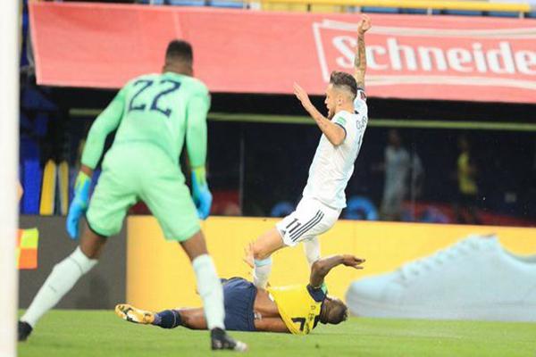 世预赛阿根廷,阿根廷首战告捷,梅西点杀,世预赛梅西点杀