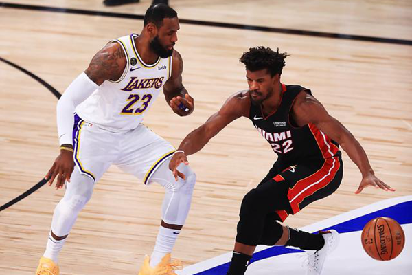 2020年NBA季后赛总决赛,NBA季后赛总决赛,NBA总决赛,湖人VS热火
