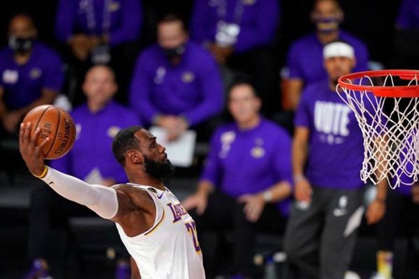 2020年NBA季后赛总决赛G6:湖人VS热火 湖人大胜热火夺队史第17冠