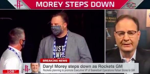 火箭总经理莫雷辞职,或将就此离开NBA领域