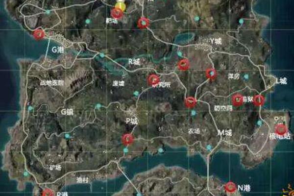 和平精英武装直升机刷新点分布在哪里?和平精英直升机坐标位置分享