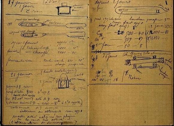 居里夫人笔记仍具放射性,需要在铅盒中保存1500年