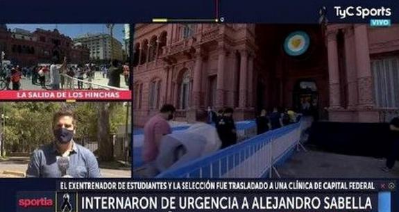 前阿根廷主帅萨维利亚被紧急送医,因马拉多纳的离世伤心过度