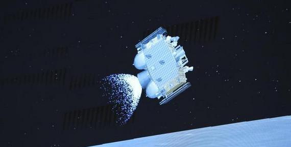 嫦娥五号在月面成功点火起飞,我国首次实现地外天体起飞