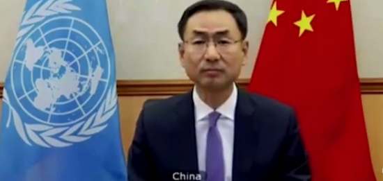 耿爽在联合国正面硬刚德国代表,怒斥其发表不负责任的言论