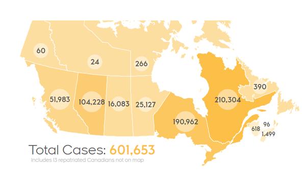 加拿大新冠确诊病例累计超过60万例,大规模疫苗接种预计4月份开始