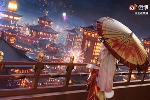 王者荣耀S22不夜长安赛年CG动画_ 不夜长安赛年CG杨玉环和阿离太美了