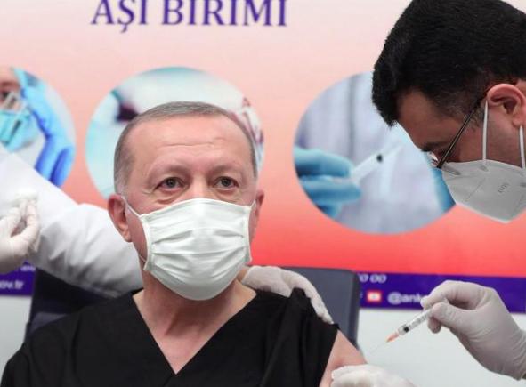 土耳其总统接种中国新冠疫苗,继印尼总统佐科后又一国家元首接种我国疫苗
