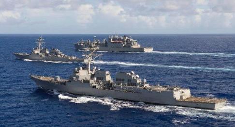 美军舰穿航台湾海峡,美国政府依旧本性难改