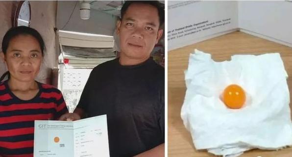 泰国司机海螺里吃出龙珠,价值超过百万元人民币
