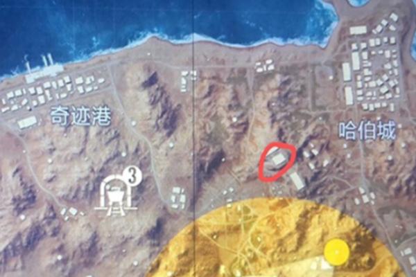 和平精英黄金岛写名字的墙在哪里? 黄金岛写名字的墙图文详解