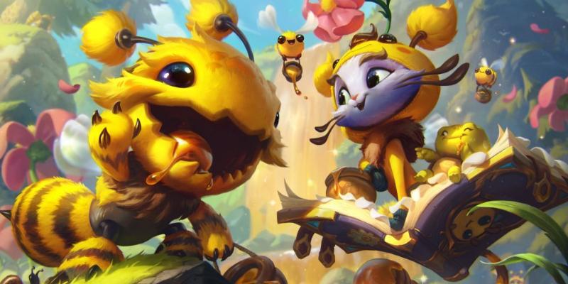 英雄联盟小蜜蜂宝典来袭,一次入手两款至臻皮肤不是梦