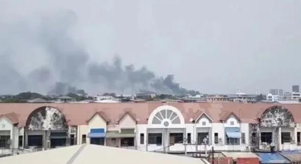 缅甸中企遭打砸抢烧,有预谋有组织性质及其恶劣