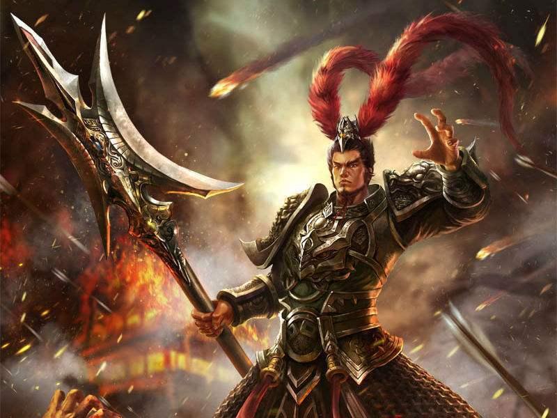 吕布杀了两名小将为何称为三国第一猛将?以辕门射戟化解刘备与纪灵的争斗