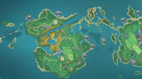 原神海草在哪里采集?原神海草刷新位置一览