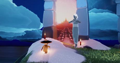 光遇霞光城拱门冥想怎么做?光遇霞光城拱门冥想位置攻略