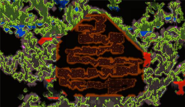 泰拉瑞亚丛林神庙怎么进去?泰拉瑞亚丛林神庙入口攻略