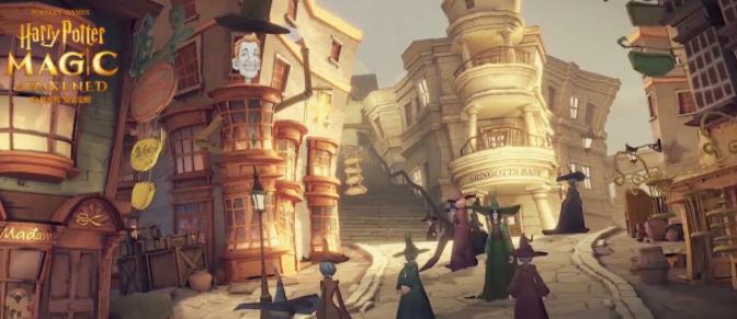 哈利波特魔法觉醒对角巷在哪里?哈利波特魔法觉醒对角巷位置攻略