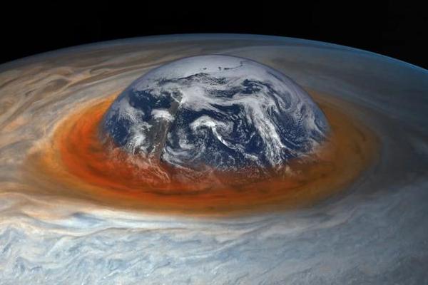研究發現木星大紅斑正在不斷的變小,未來或將消失