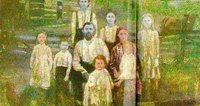 肤色似阿凡达的家族,本杰明,蓝色肤色