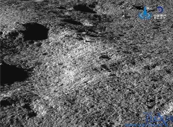 月球表面最新照片