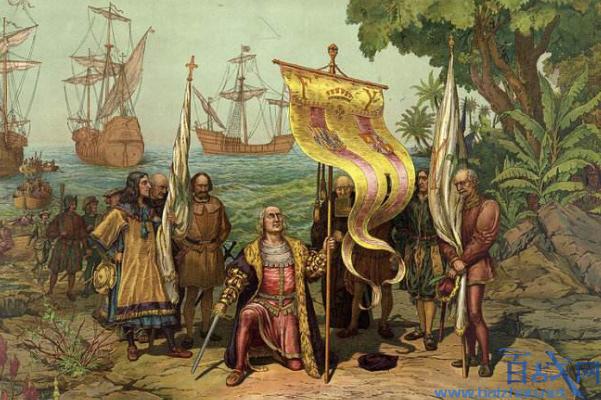 哥伦布发现新大陆