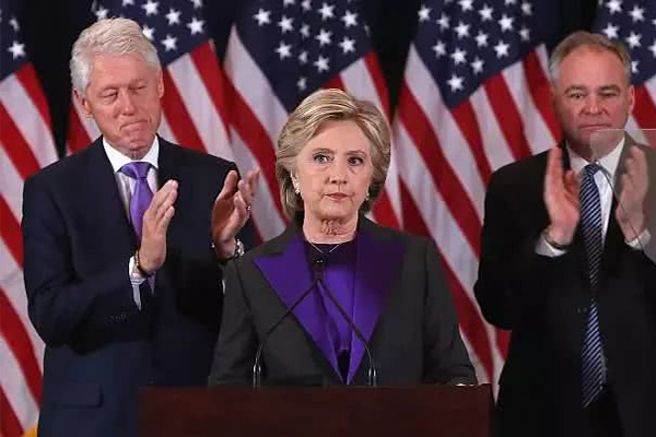 克林顿怒怼纽约时报,总统竞选,特朗普,纽约时报