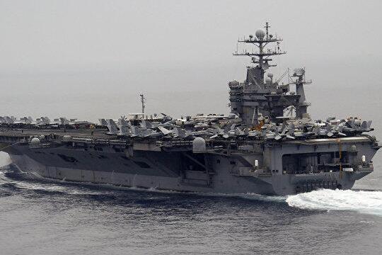 美航母进地中海,哈里•杜鲁门号航母,美国航母对叙利亚打击