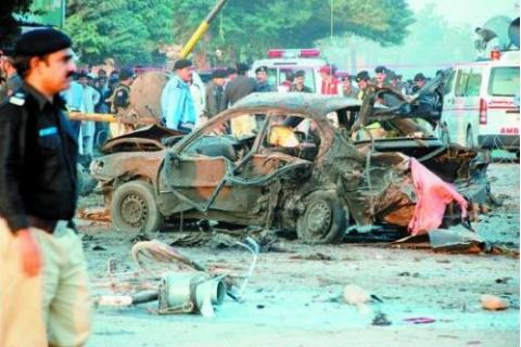 巴基斯坦自杀袭击,自杀式恐怖袭击,巴基斯坦遭袭击