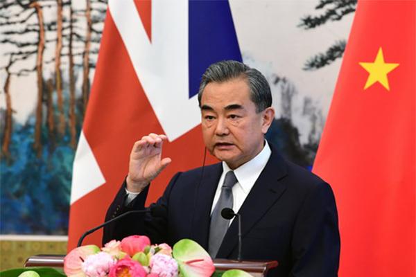 中美代表私下接触,王毅,中英代表,贸易战