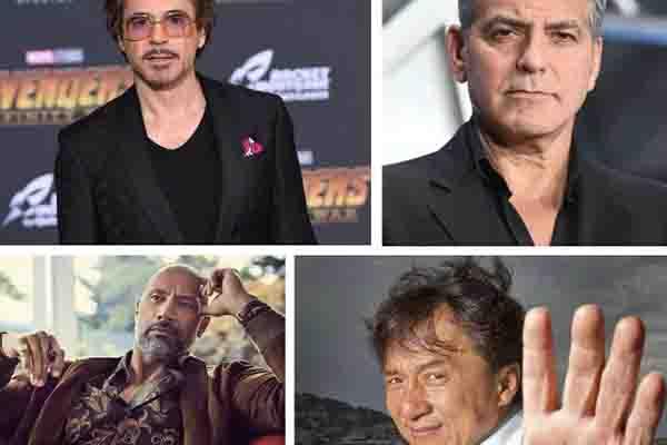 收入最高男演员榜,成龙,男演员,克鲁尼