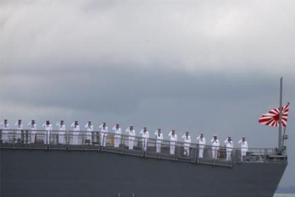 韩要求不挂旭日旗,这份特别提醒让日本防卫