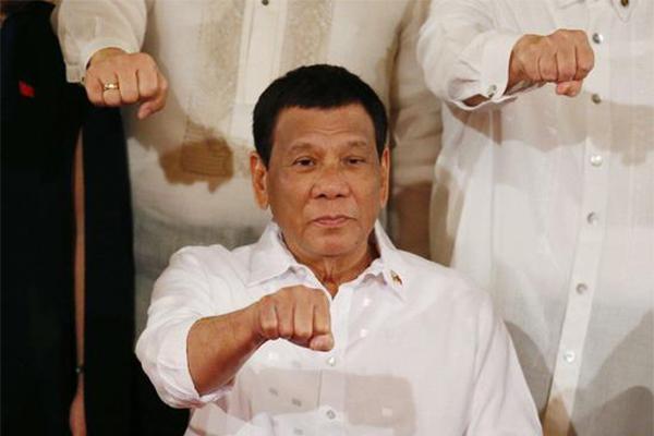 杜特尔特证实未患癌,菲律宾总统,杜特尔特,杜特尔特未患癌