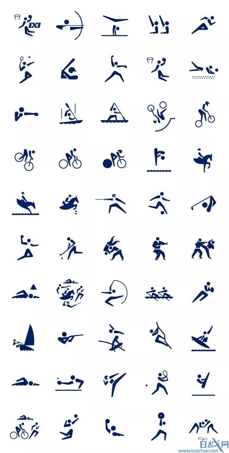奥运会体育图标,奥运会图标,体育图标