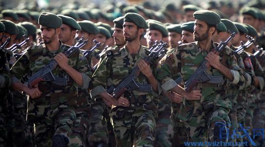 美国拉黑伊朗卫队