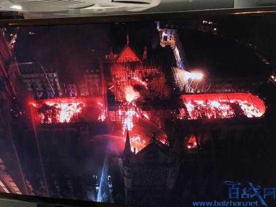 巴黎圣母院失火,巴黎圣母院