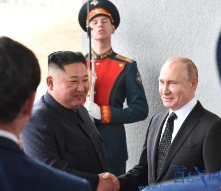 金正恩普京握手