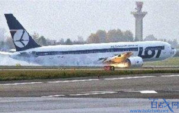 波音767客机空中起火,飞机起火,波音767客机起火